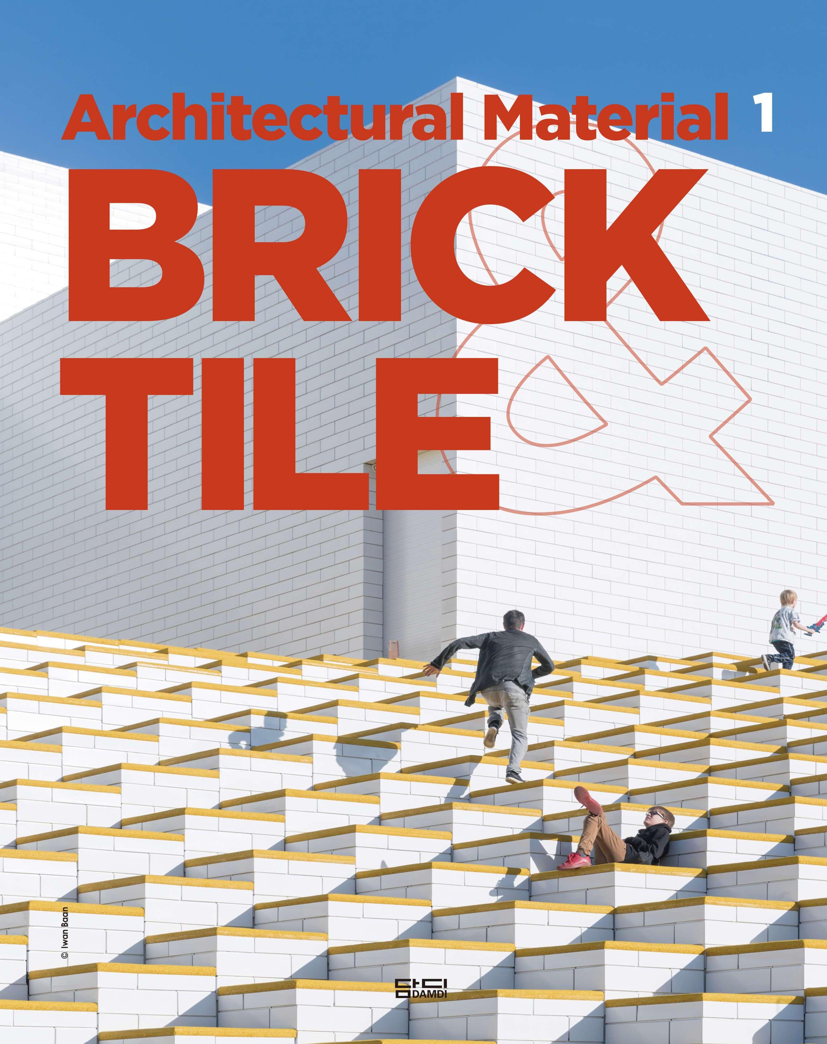 obra publicada - portada Architectural Material 1 - BRICK&TILE -DAMDI Publishing House - iA_house LANDÍNEZ+REY arquitectos