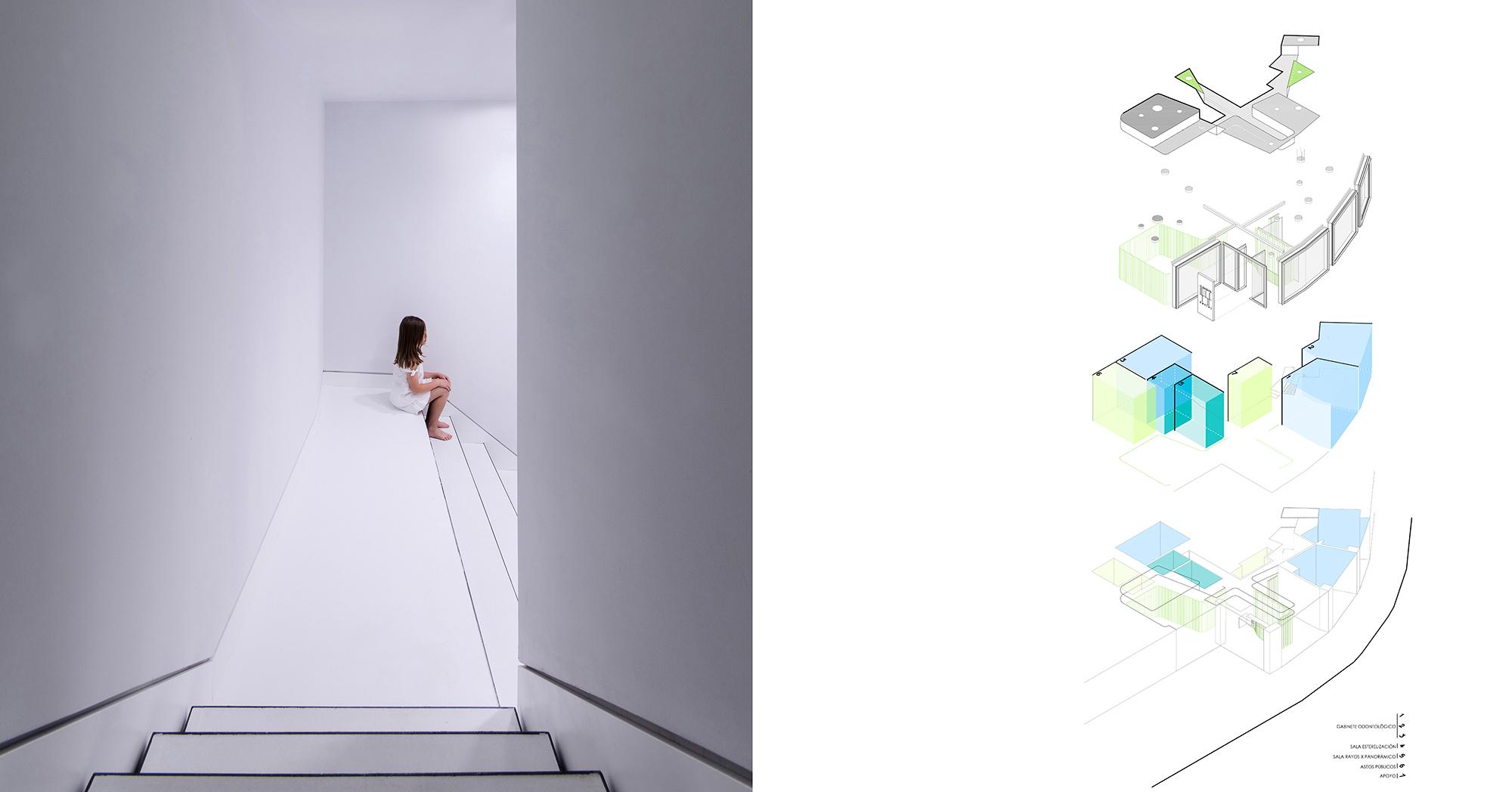CLINICA CLEMENTE dental - LANDÍNEZ+REY arquitectos - arquitectura retail - interiorismo