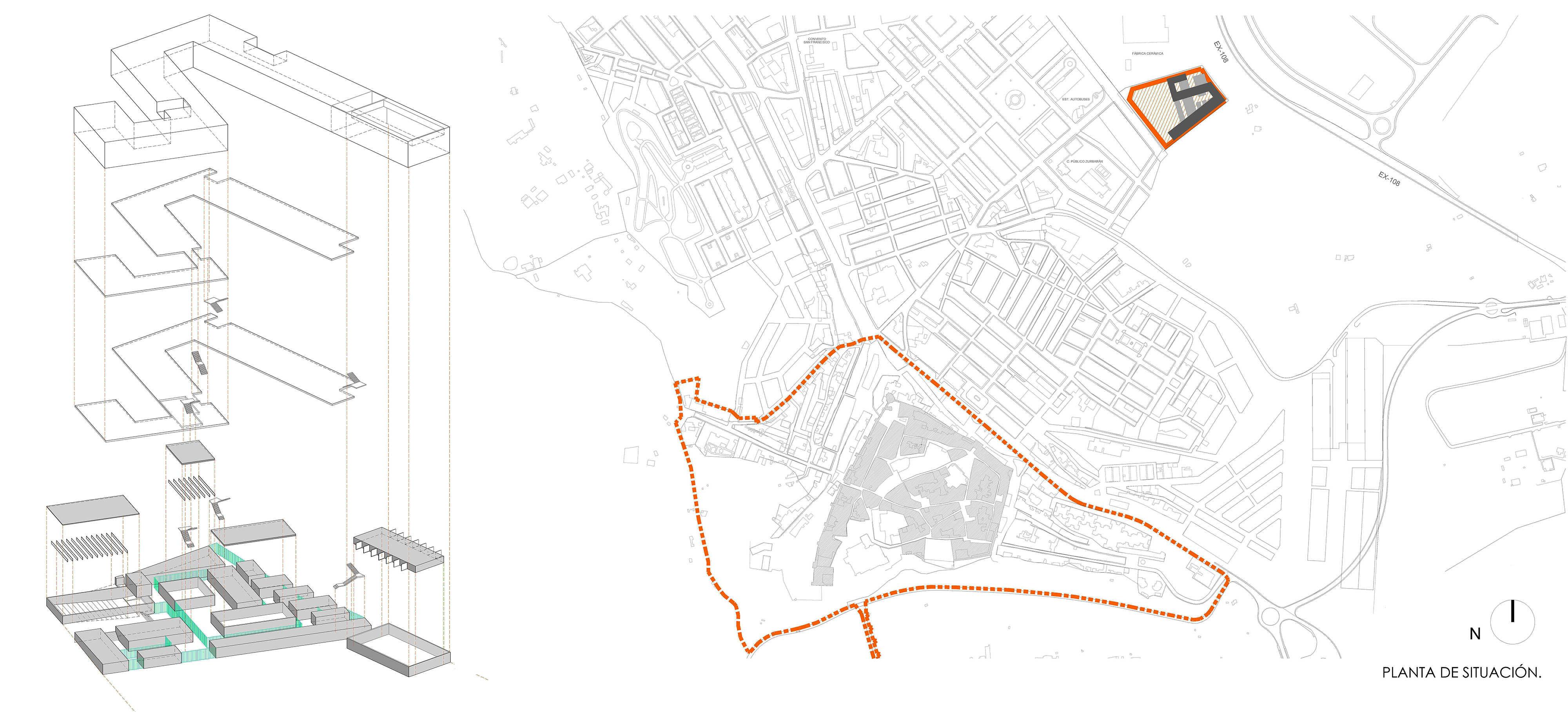 LOCATION PLAN LANDINEZ+REY arquitectos [eL2Gaa]
