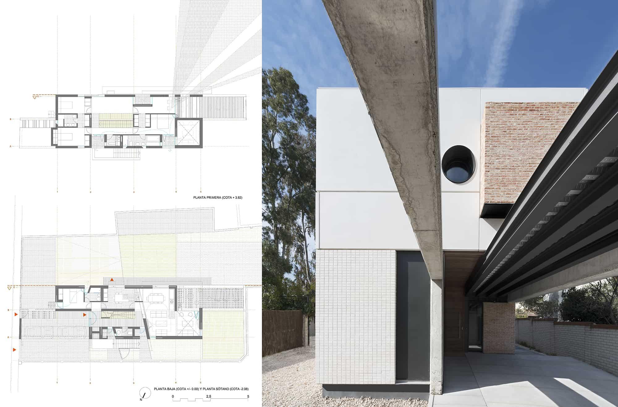 Vivienda_IA - acceso - fábricas - LANDINEZ+REY | equipo L2G arquitectos, slp [ eL2Gaa ]