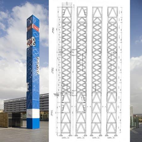 PORTFOLIO ARQUITECTURA - Hito METRO de MADRID | LANDINEZ+REY | equipo L2G arquitectos, slp [ eL2Gaa ]