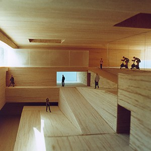 Portfolio arquitectura - Polideportivo UAM - maqueta - arquitectura deportiva - LANDÍNEZ+REY arquitectos| eL2Gaa